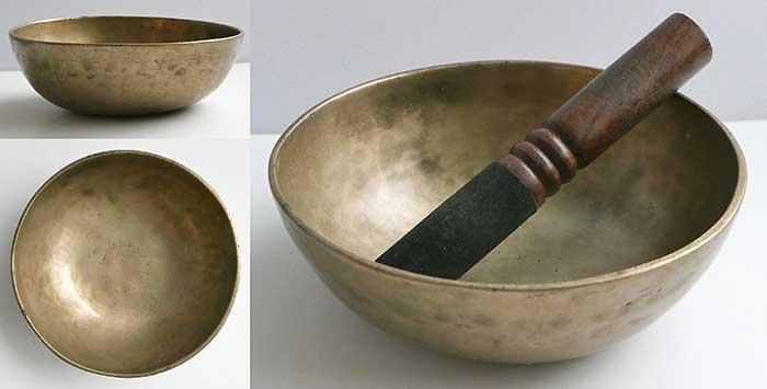 Antique Manipuri Singing Bowl – Perfect Pitch B4 (494Hz)