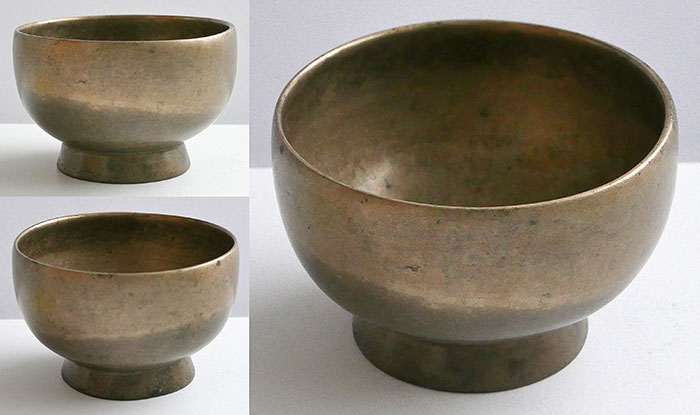 Small Antique Naga Singing and Healing Bowl – Concert Pitch C5 & F6