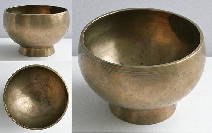 Medium Size Antique Naga Singing and Healing Bowl – F#4 & B5
