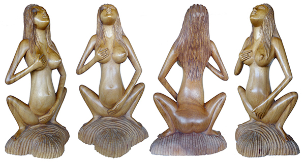 Nude Woman Pleasuring Herself