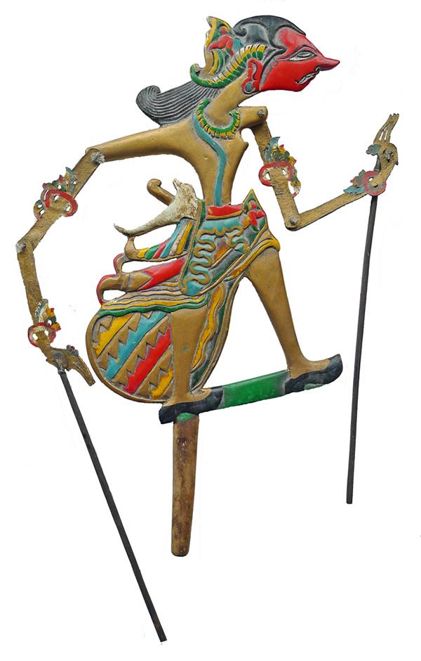 Old Javan Wayang Klitik Puppet