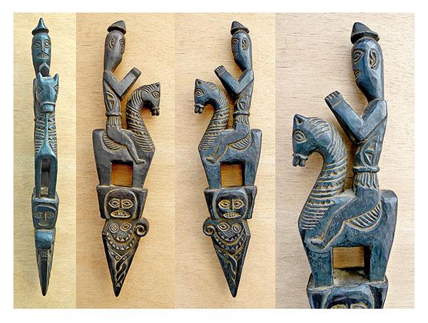 Shamanic Ceremonial Horseman Phurba