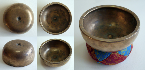 Rare Small Tibetan Lingam Singing Bowl