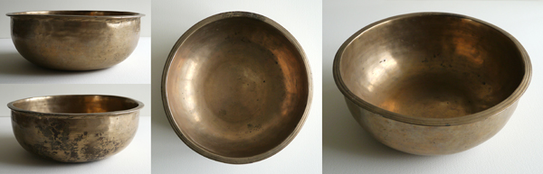 Rare Unusual Shape Tibetan Singing Bowl
