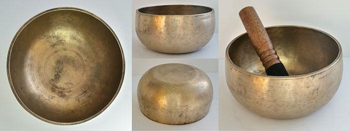 Rare Antique Remuna Singing Bowl – B3 (243-245Hz)