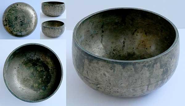 Rare Antique Remuna Singing Bowl in 'As Found' Condition – C4 (266Hz)