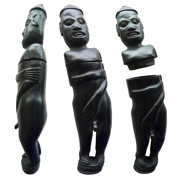 Sasak Buffalo Horn Male Figure – Lombok