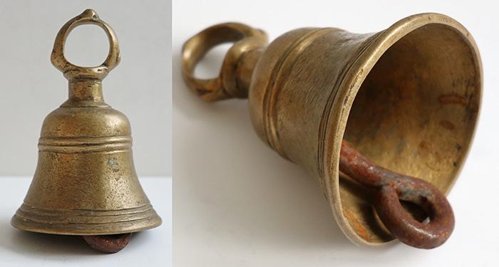 Antique Bronze Temple/Shrine Bell – Great Sound!