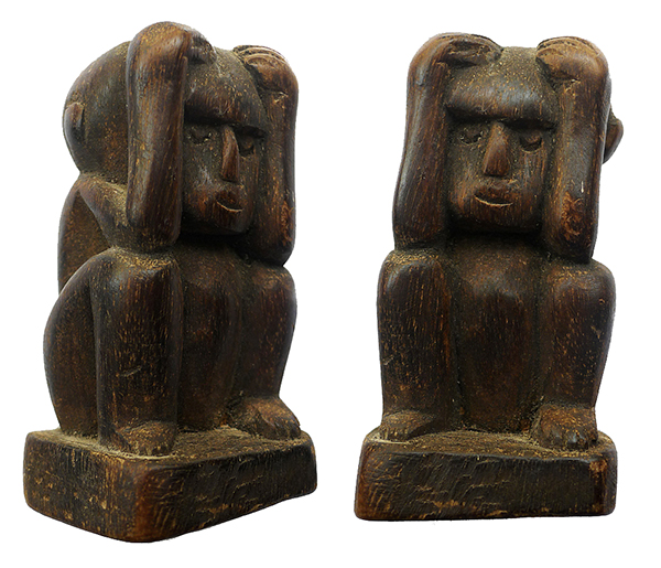 Sleeping Timor Male Ancestor Figure
