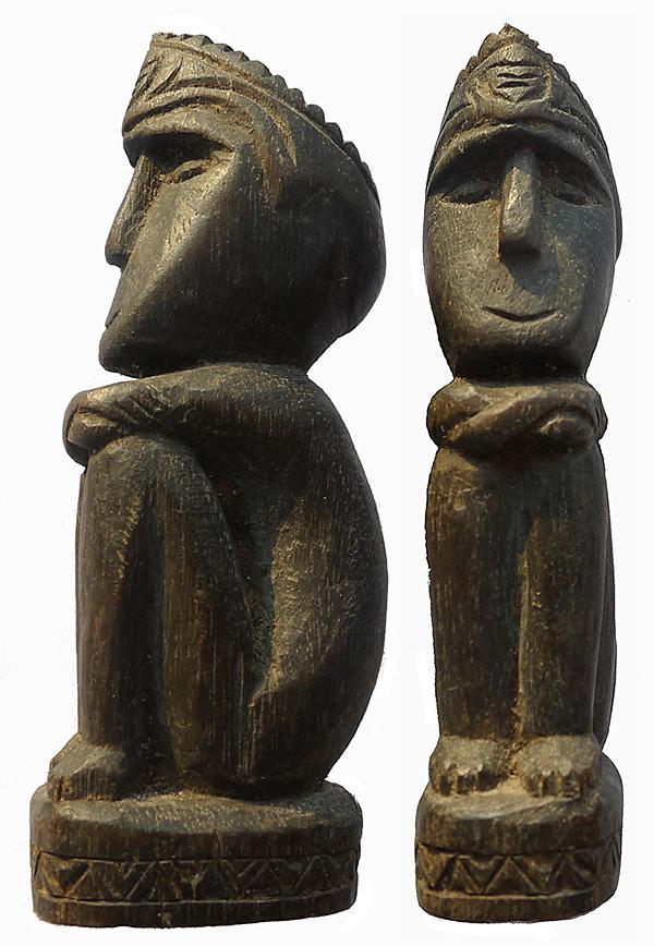 Small Timor Male Ancestor Figure