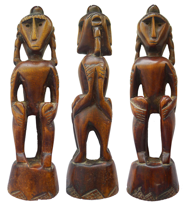 Sumba Double-Sided Ancestor Figure
