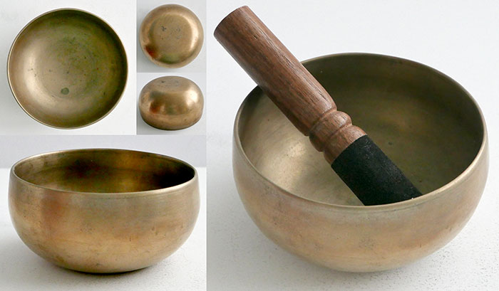 Fabulous Tiny Antique Thadobati Singing Bowl – Incredible C#5 (544Hz)