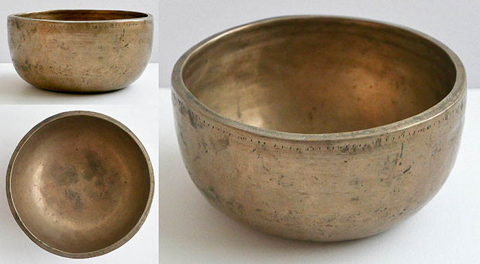 Small Antique Thadobati Singing Bowl – Extra Thick & Multi-Harmonic