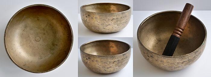 Antique Thadobati Singing Bowl – G3 (195Hz)