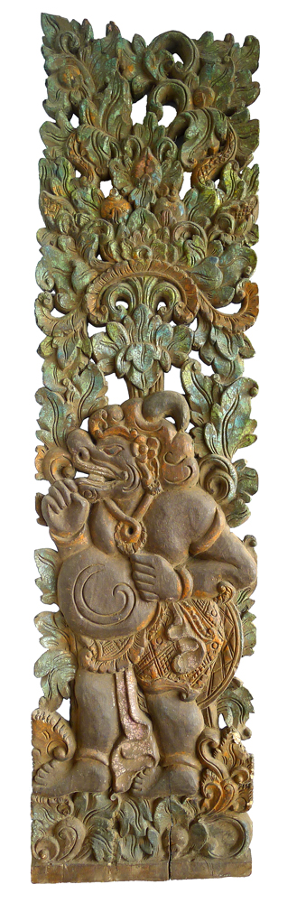 The Shadow Puppet Tualen – Old Carved Panel