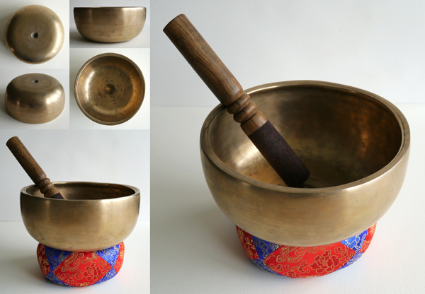 Tibetan Lingam Singing Bowl