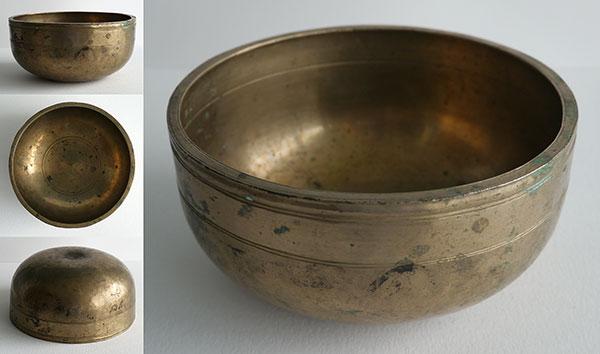 Tibetan Lingam Singing Bowl – Finely Decorated