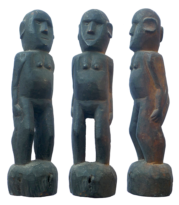 Timor Standing Female Ancestor Figure 21 cm (8.5 inches)