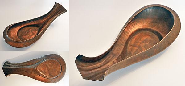 Rare 19th Century Copper Yoni Ritual Pourer