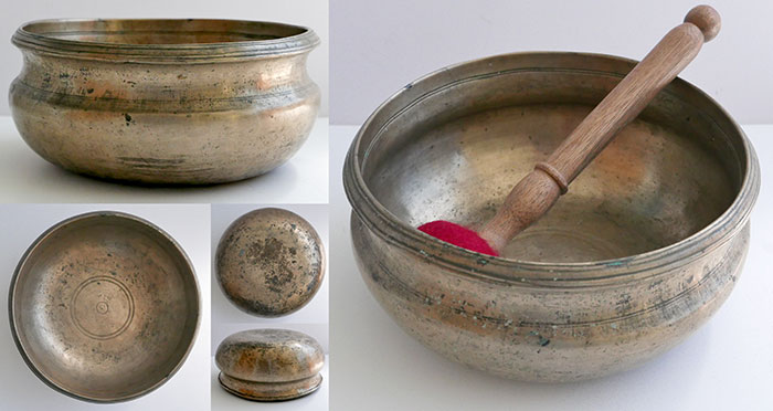 Rare Antique Singing Bowl – Unique Form & Superb Condition
