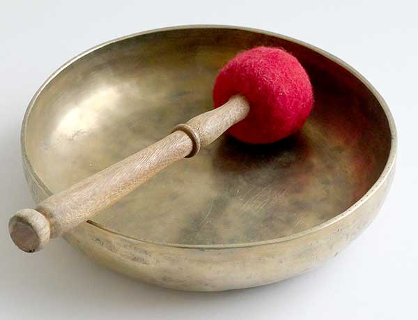 Rare Shallow Antique 'Shaman' Singing Bowl – Bb3 (229Hz)