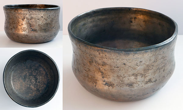 Rare Bell-Shaped Antique Singing Bowl – Concert Pitch B3 (243/246Hz)