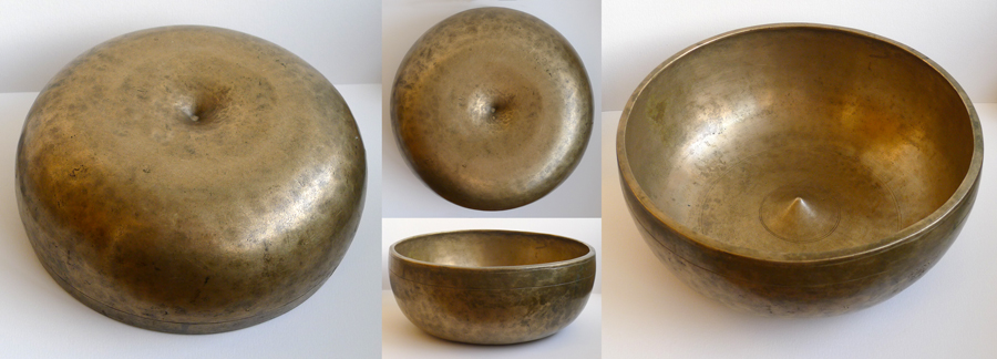 Rare Antique Tibetan Lingam Singing Bowl